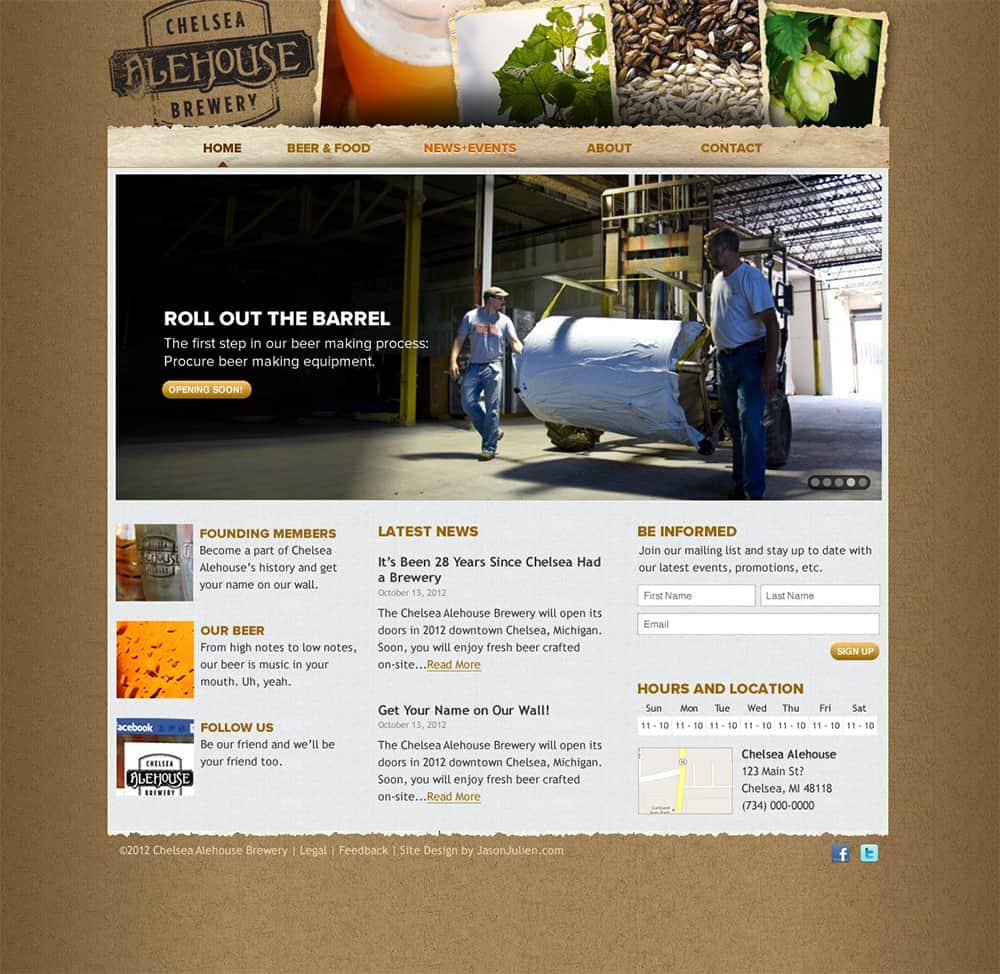 Brewery Website Design