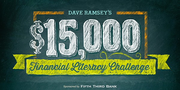 Dave Ramsey Financial Literacy Challenge Graphic