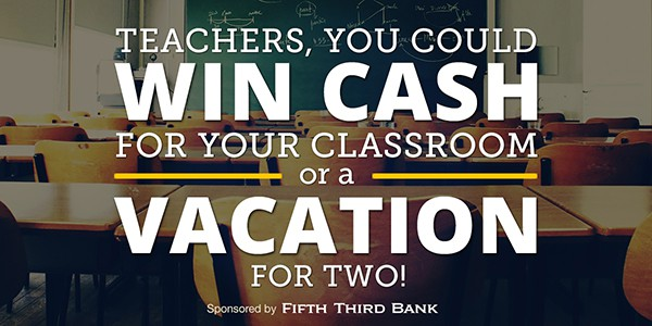 Dave Ramsey Teachers Win Cash Graphic Design