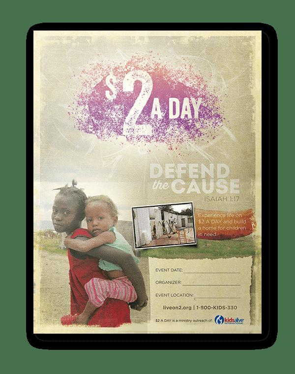 Kids Alive Poster design