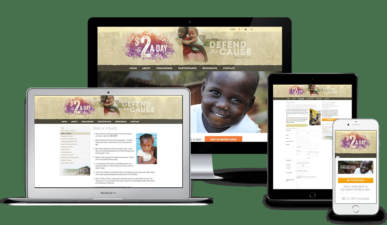 $2 A Day Website Design