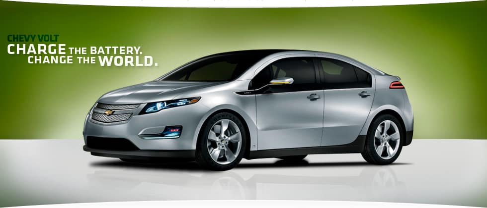 GM Chevy Volt Graphic Design