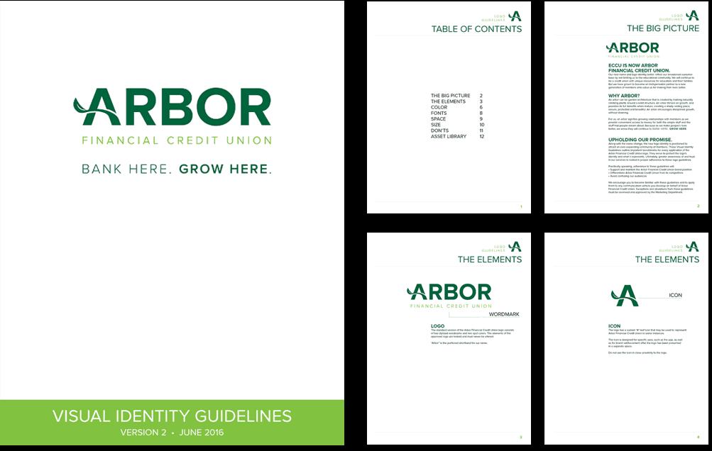 arbor brand identity
